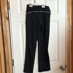 Fila Kids Track Pants Size 10/12 M Black